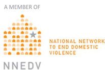 A member of the National Network to End Domestic Violence