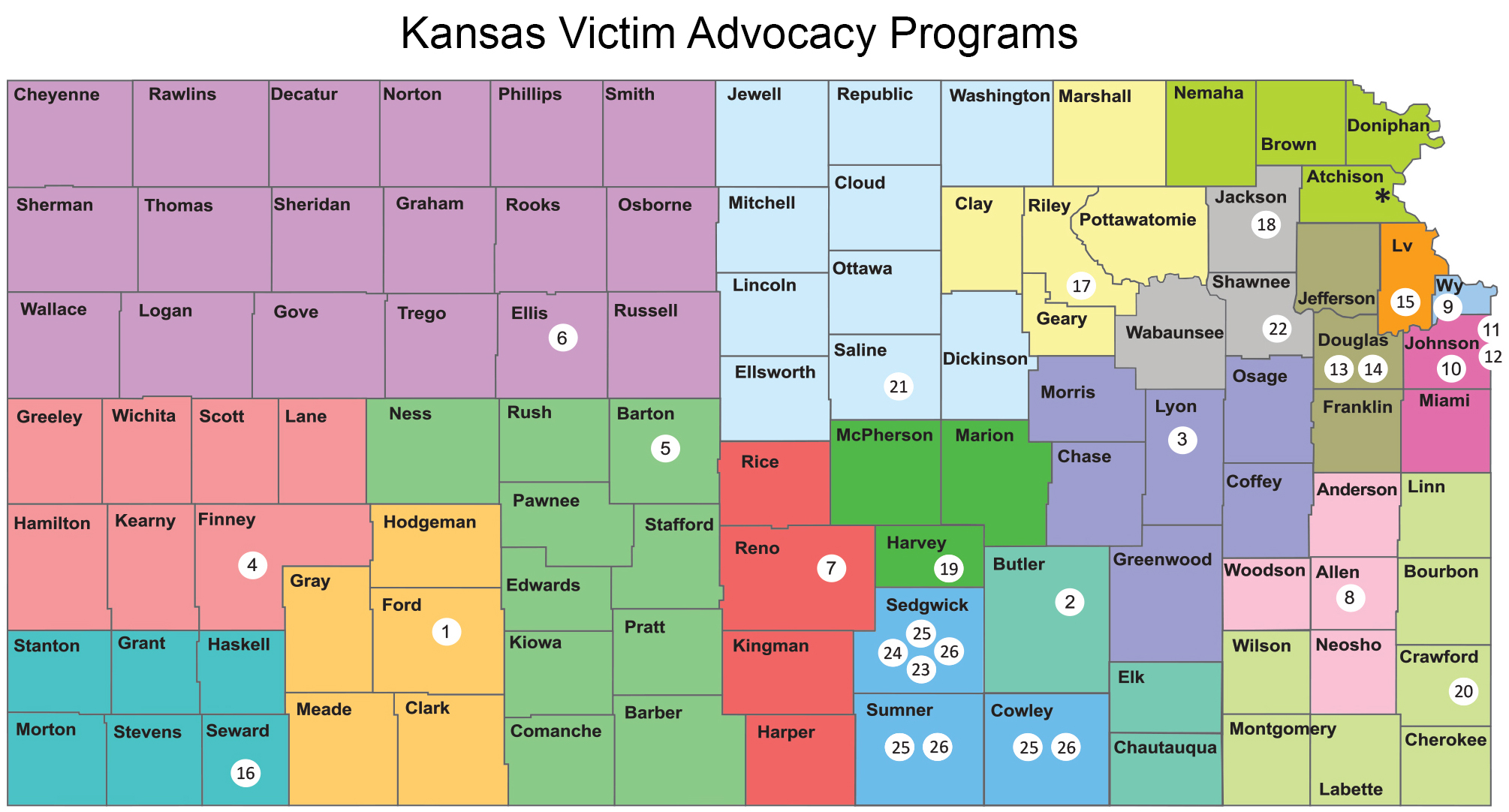 SA DV resources map