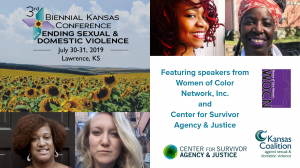 3rd Biennial Kansas Conference for Ending Sexual and Domestic Violence